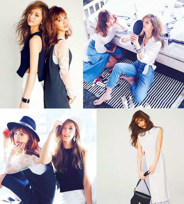 E-girls藤井姉妹スタイルブック「ANTITHESE」より 1月25日発売.png