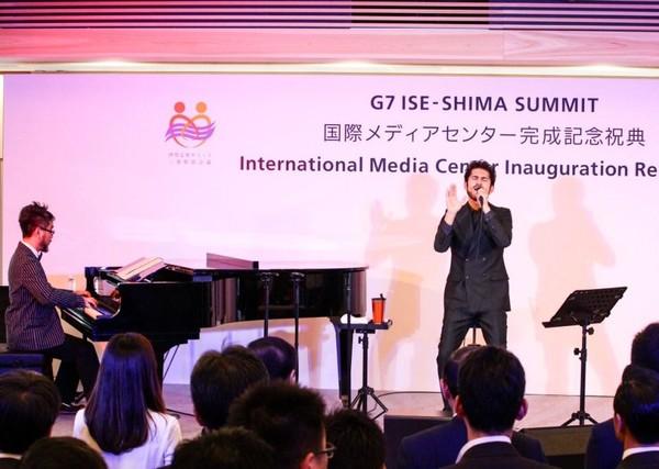 【動画】平井堅|伊勢志摩サミットのIMC完成記念祝典で応援ソング『TIME』を披露!.png
