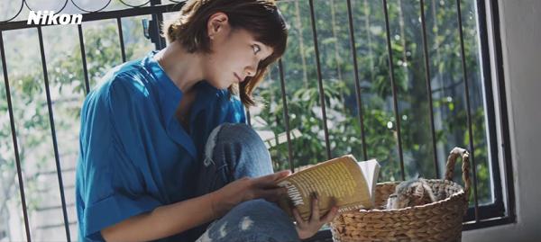 【動画】本田翼と猫がめっちゃ可愛い!ニコン「SnapBridge」スペシャルムービー公開!6.png