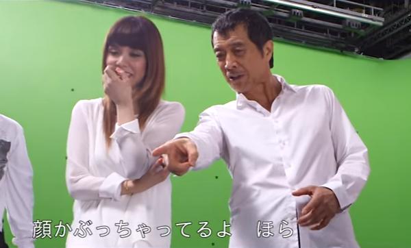 【動画】矢沢永吉と娘の矢沢洋子がプレミアムモルツCMでデュエット!(メイキング).png