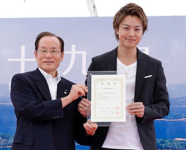 【動画】EXILE TAKAHIROが佐世保市観光名誉大使に任命!1500人の大歓声!.png