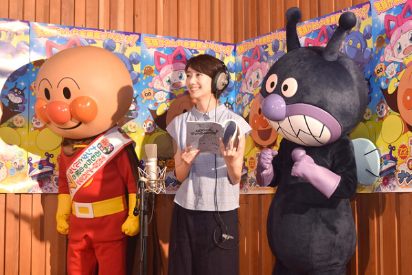 【画像】波瑠 アンパンマン映画の公開アフレコで熱演!.png