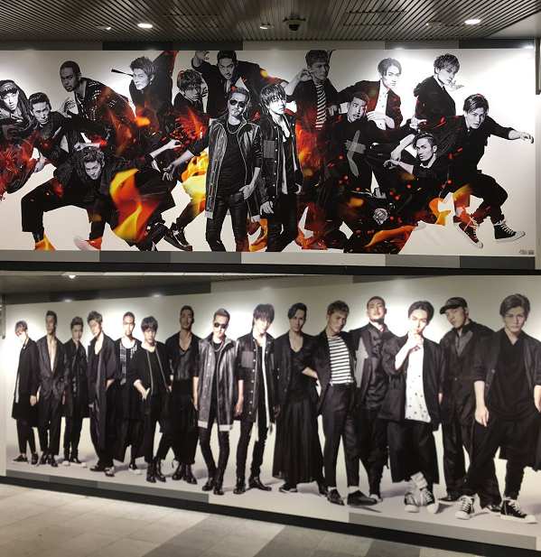 【画像】渋谷駅にEXILEの巨大ポスターが登場!『Joy-ride ~歓喜のドライブ~』8/17リリース!.png