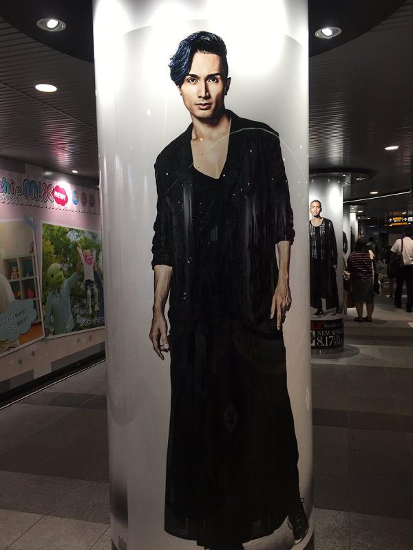 【画像】KENCHI(橘ケンチ)|渋谷駅にEXILEの巨大ポスター&柱巻が期間限定で登場!.png