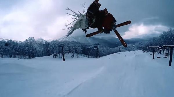 カップヌードルCM 「7 SAMURAI 篇」スキー .png
