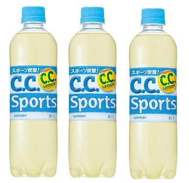 サントリー 新スポーツ微炭酸飲料「C.C.スポーツ」CMに妖精・シューゾー(松岡修造)登場.png