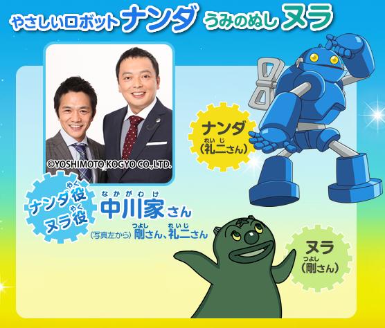 中川家が映画「それいけ!アンパンマン おもちゃの星のナンダとルンダ」公開アフレコ.png