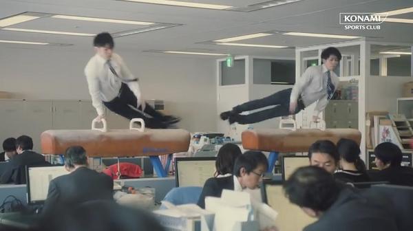体操代表・内村&加藤がオフィスであん馬に挑戦!CM「オフィスで体操」篇.png