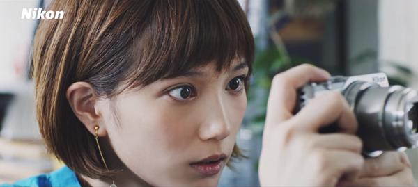 本田翼と猫が可愛い!ニコン「SnapBridge」スペシャルムービー公開!2.png