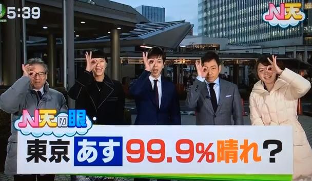 松本潤 ドラマ「99.9-刑事専門弁護士-」「Nスタ」で「N天の眼」のポーズをする.png
