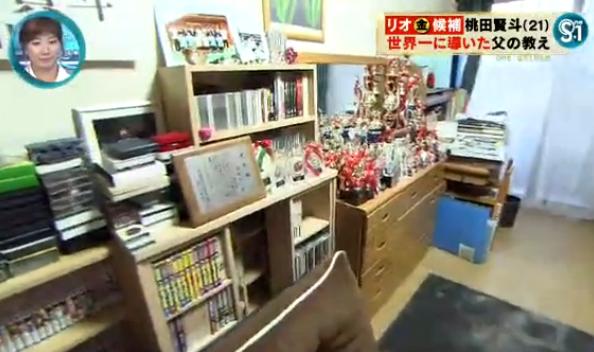 桃田賢斗 実家の部屋には表彰状やトロフィーがいっぱい.png