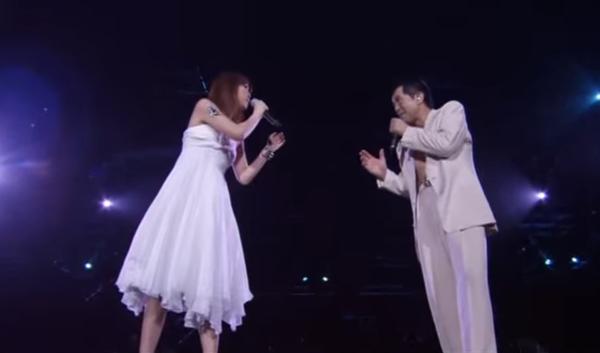 矢沢永吉が娘の矢沢洋子と初共演!2009年東京ドームにて.png