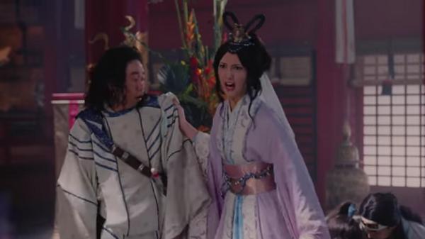 au三太郎CM「プロポーズ篇」乙姫が鬼の形相で「住み込みで働くってよぉ!」.png